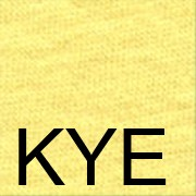 KYE Светло-жёлтый