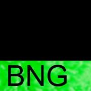 BNG Чёрный/неоново-зелёный