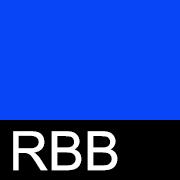 RBB Ярко-синий/чёрный