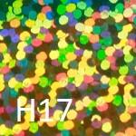 Радужный яркий H17