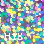 Радужный светлый H18