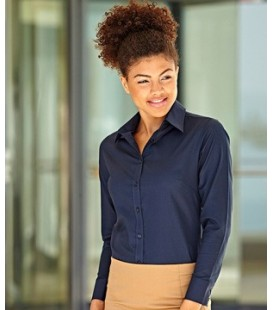 Женская рубашка Fruit of the Loom - LADY-FIT LONG SLEEVE OXFORD SHIRT