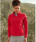 Женский  флис Fruit of the Loom - ФЛИС LADY-FIT FULL ZIP FLEECE