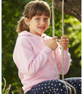 Детская толстовка с капюшоном Fruit of the loom  Kids  Premium  Hooded Sweat