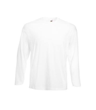 Мужская футболка с длинным рукавом Fruit of the Loom ValueWeight Long Sleeve T