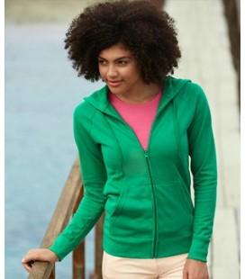 Женская приталенная легкая куртка-толстовка с капюшоном LIGHTWEIGHT