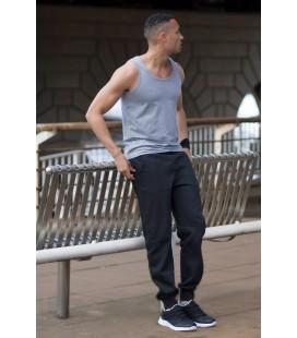 Мужские теплые штаны спортивные с манжетом снизу Украина