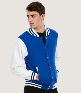 Бейсбольная колледж куртка Uneek varsity jacket