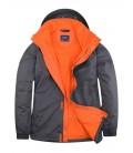 Мужская водозащитная куртка с флисовой подкладкой Uneek