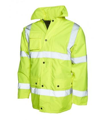 Светоотражающая сигнальная куртка Uneek