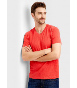 V образная мужская футболка Бангладеш