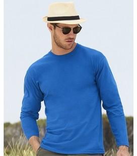 Мужская футболка с длинным рукавом Fruit of the Loom ValueWeight