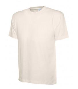 Классическая бежевая футболка Uneek