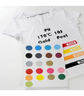 Флекс для печати на одежде PU 90 микрон