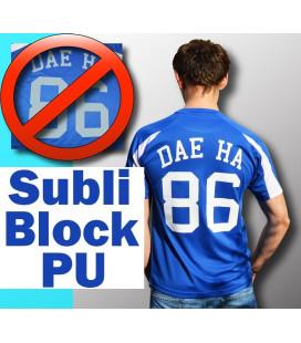 Сублиблок для любого черного текстиля Subli-block PU flex