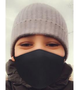 Детские маски трикотажные двухслойные